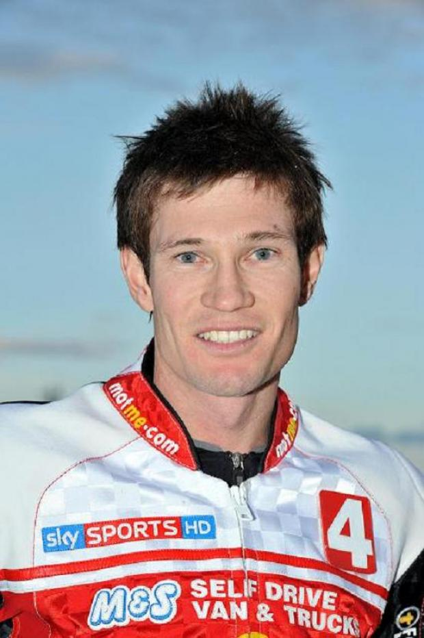 This Is Wiltshire: Swindon Robins rider Jason Doyle