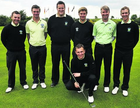 This Is Wiltshire: The Wiltshire team that won the South West qualifier at Cumberwell Park earlier this summer