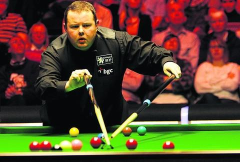 Trowbridge snooker star Stephen Lee