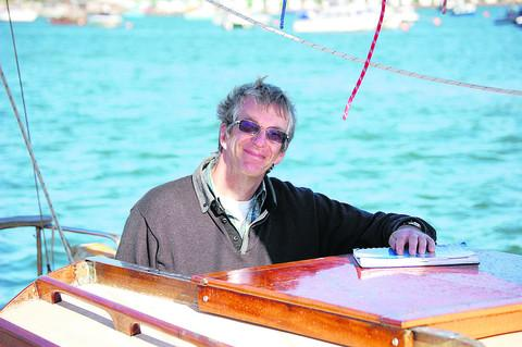 This Is Wiltshire: Viv Stevens who will take part in the Isle of Wight challenge