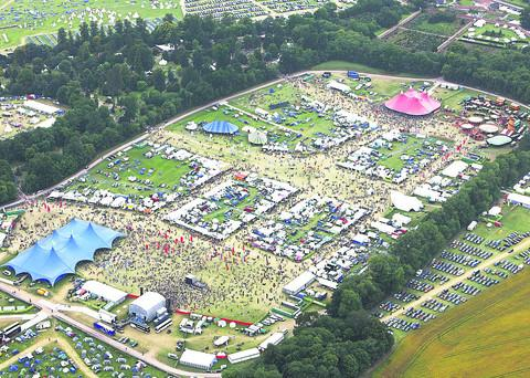This Is Wiltshire: POPULAR: A crowded Charlton Park during last year's WOMAD festival  PICTURE BY robert peel
