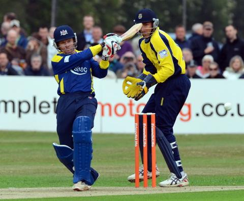 This Is Wiltshire: Hamish Marshall, who will take part in a charity T20 game at the County Ground on July 13