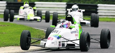 This Is Wiltshire: Bratton's Ben Norton is closing in on the Formula Ford 1600 championship