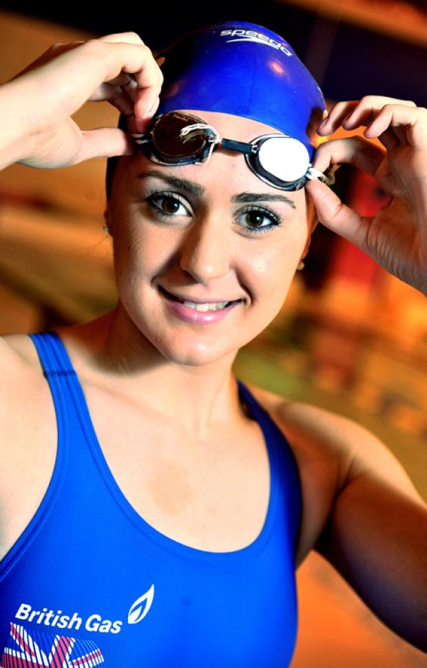 This Is Wiltshire: Swindon swimmer Tilly Gray