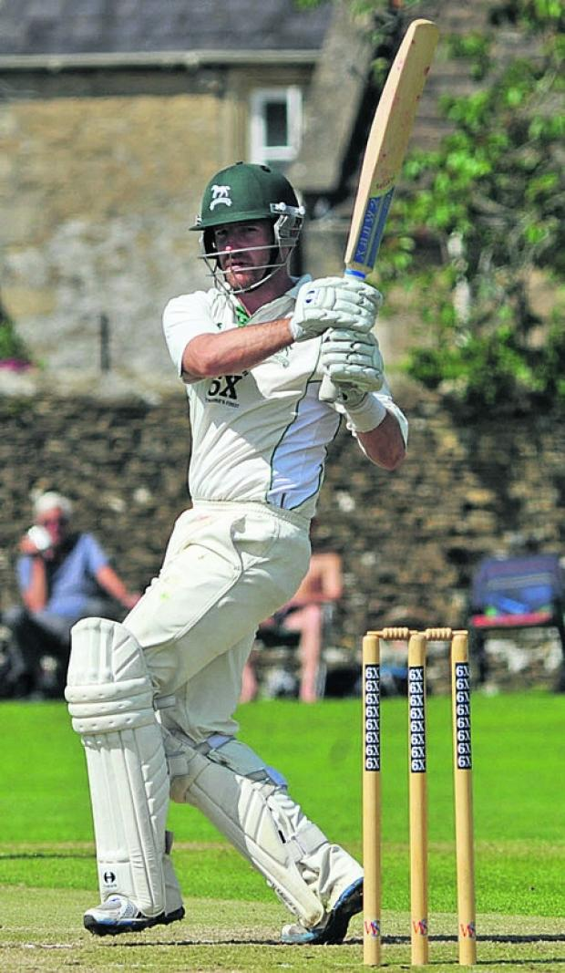 This Is Wiltshire: Jayden Levitt scored 152 for Wiltshire