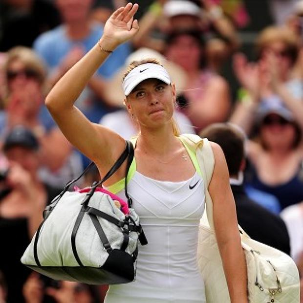This Is Wiltshire: Maria Sharapova (pictured) overcame Tsvetana Pironkova in three sets