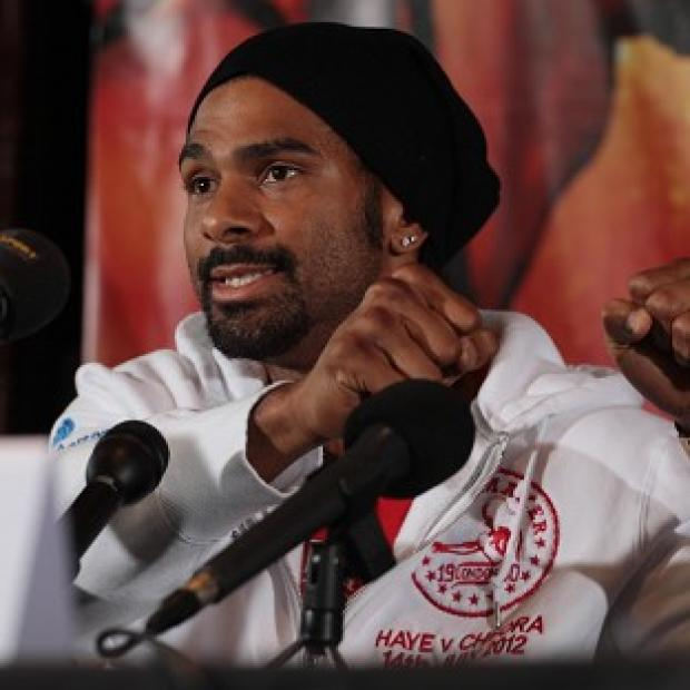 This Is Wiltshire: David Haye (pictured) does not believe his fight with Dereck Chisora will go down in history
