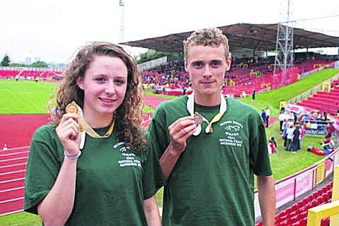 This Is Wiltshire: Alex Carter (right) with Loren Bleaken