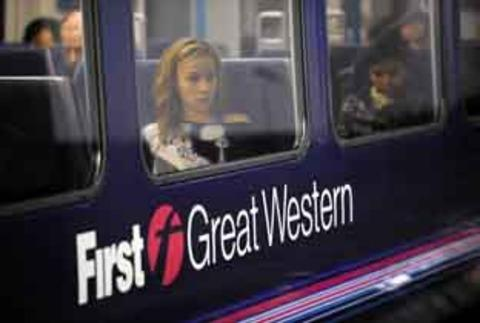 This Is Wiltshire: A First Great Western train