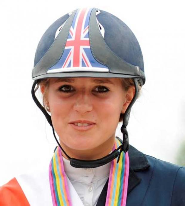 This Is Wiltshire: Eventing starlet Jessica Mendoza