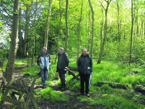Oakfrith Wood will stay in community use as it won't be sold with the rest of Urchfont Manor estate
