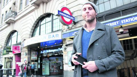 This Is Wiltshire: Shaun Buswell is in London for the 12/12/12 Underground Orchestra Challenge