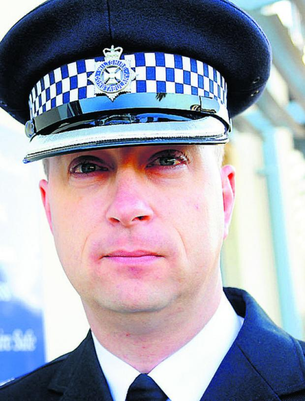 This Is Wiltshire: Operational Policing Superintendent Gavin Williams