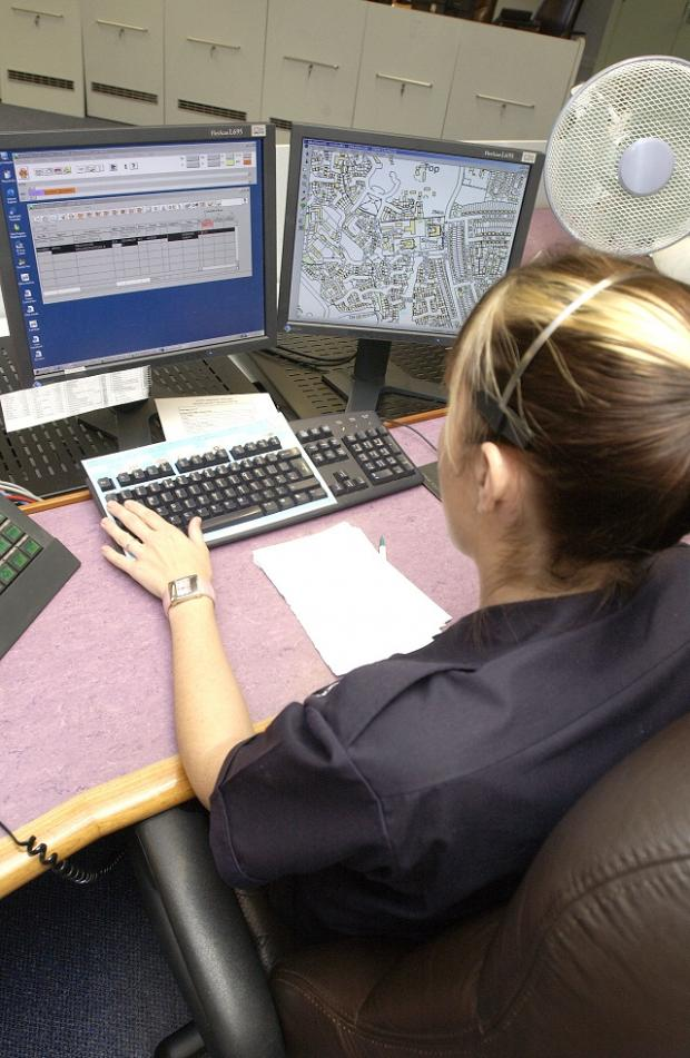 This Is Wiltshire: A teenage girl has been arrested on suspicion of misuse of the emergency communications network
