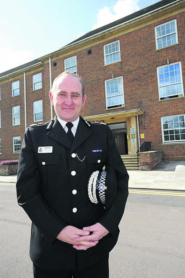 Temporary chief constable Patrick Geenty