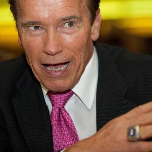 This Is Wiltshire: Arnold Schwarzenegger revealed he ended up in an Austrian military jail
