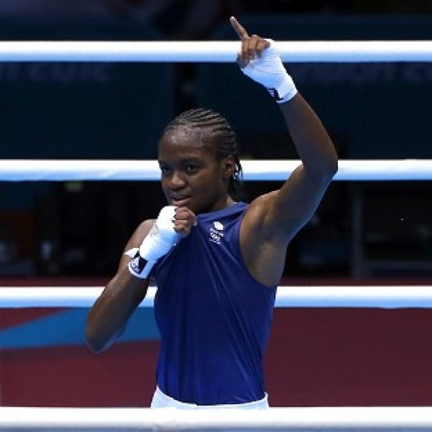 This Is Wiltshire: Nicola Adams became the first ever women's Olympic boxing champion