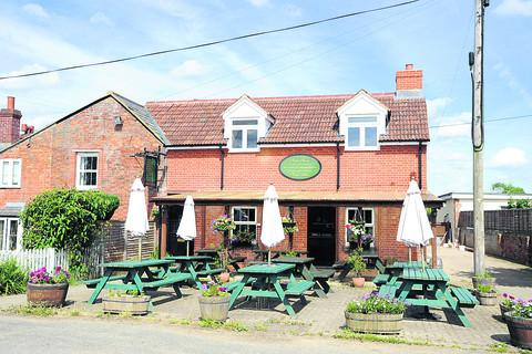 This Is Wiltshire: The Foxham Inn's food is well presented and delicious