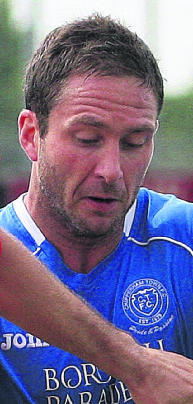 This Is Wiltshire: Chippenham Town's Iain Harvey
