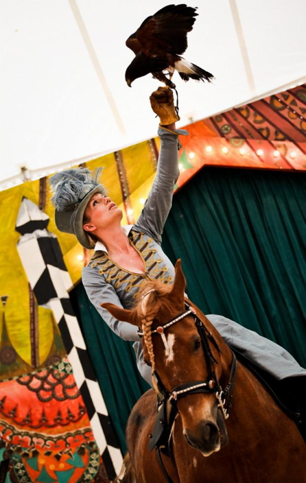 This Is Wiltshire: Circus owner Nell Gifford