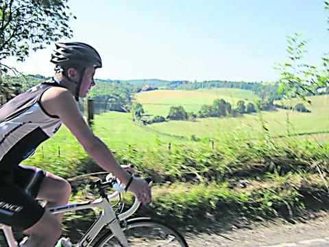 This Is Wiltshire: Lyndon Ogbourne on his cycling mission