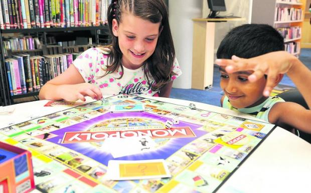 This Is Wiltshire: Children show they're game at library