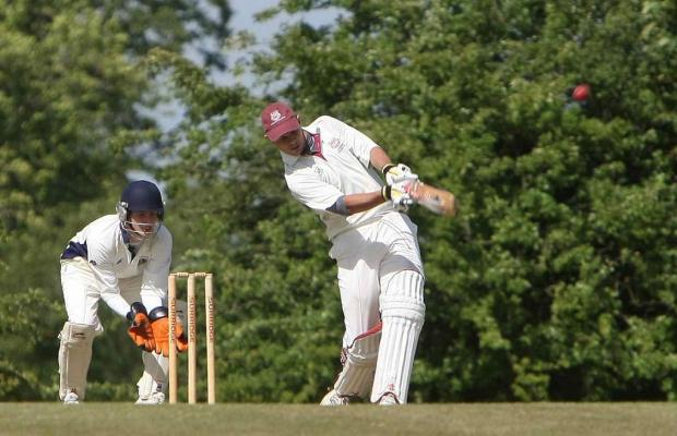 This Is Wiltshire: Adrian Stenner hit 83 in Lechlade's victory
