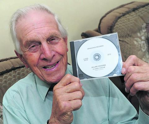 This Is Wiltshire: Allan Cousins, 78, with his first single