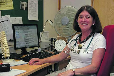 This Is Wiltshire: Dr Ethel Johnson wants to spend more time cooking and going on country walks