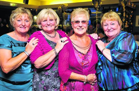 This Is Wiltshire: Christine Shurey (second right) with her sisters Jackie Cruse, Sandra Lacey & Pam Harrison