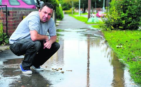 This Is Wiltshire: Paul Baker in Penhill Drive
