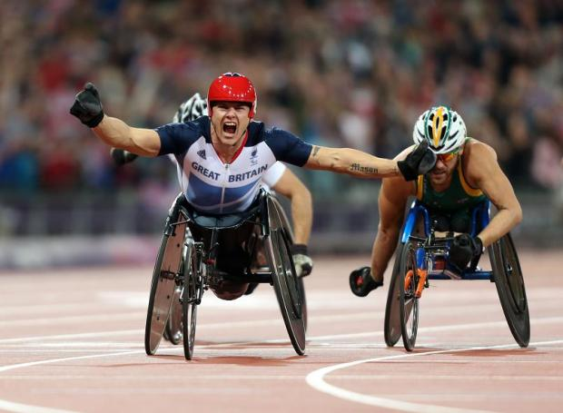 This Is Wiltshire: Wheelchair racer David Weir