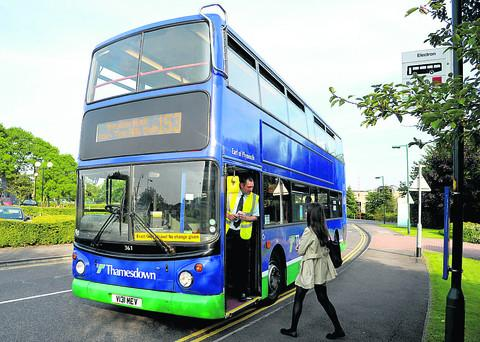 This Is Wiltshire: New bus service off to a quiet start