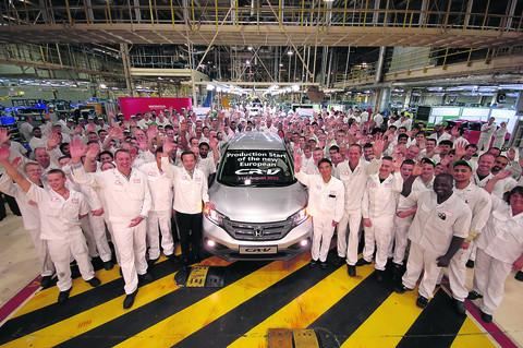 Honda UK associates with the new CR-V