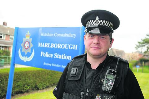This Is Wiltshire: Wiltshire Police's Sgt Vincent Logue