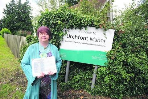 This Is Wiltshire: Nicola Vesey Williams has launched a last ditch attempt to retain Urchfont Manor as an adult education facility, even though it has now closed.