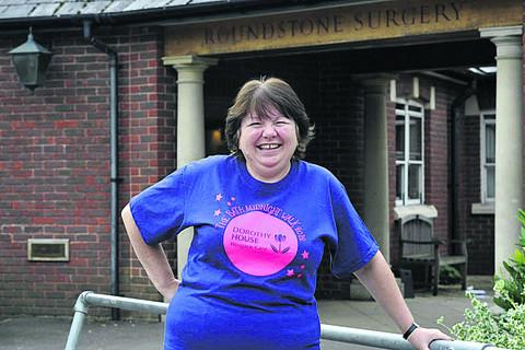 This Is Wiltshire: Sharon French  is doing the Midnight Walk in Bath to raise money for Dorothy House