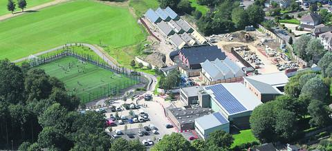 Croft School development and Croft sports centre