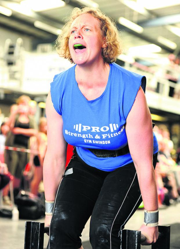 This Is Wiltshire: Sarah Windo in the strongest woman competition