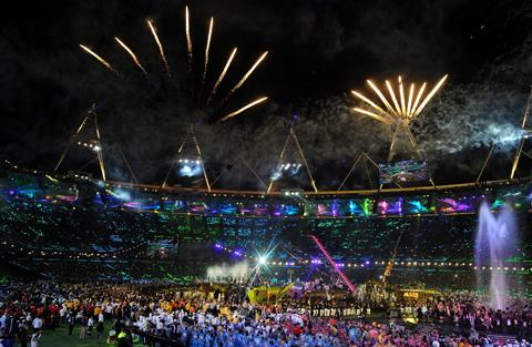 This Is Wiltshire: The games closed with a spectacular ceremony