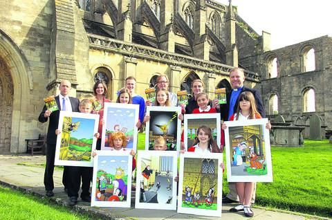 This Is Wiltshire: Children from Malmesbury Primary School help launch the guide