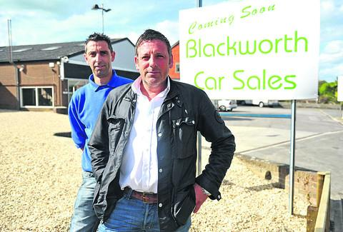 This Is Wiltshire: Simon James and Marcus Edginton, of Blackworth Car Sales