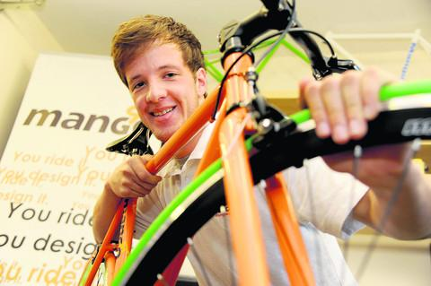This Is Wiltshire: Pair's bright idea to customise bikes leads to TV fame
