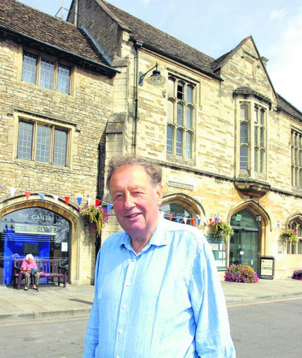 This Is Wiltshire: Friends of Athelstan Museum founder Roger Griffin