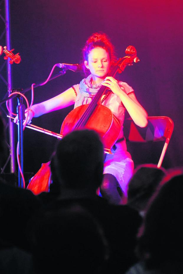 This Is Wiltshire: Beth Porter, who performed at the Village Pump festival in July, will join the bill with Sam Kelly