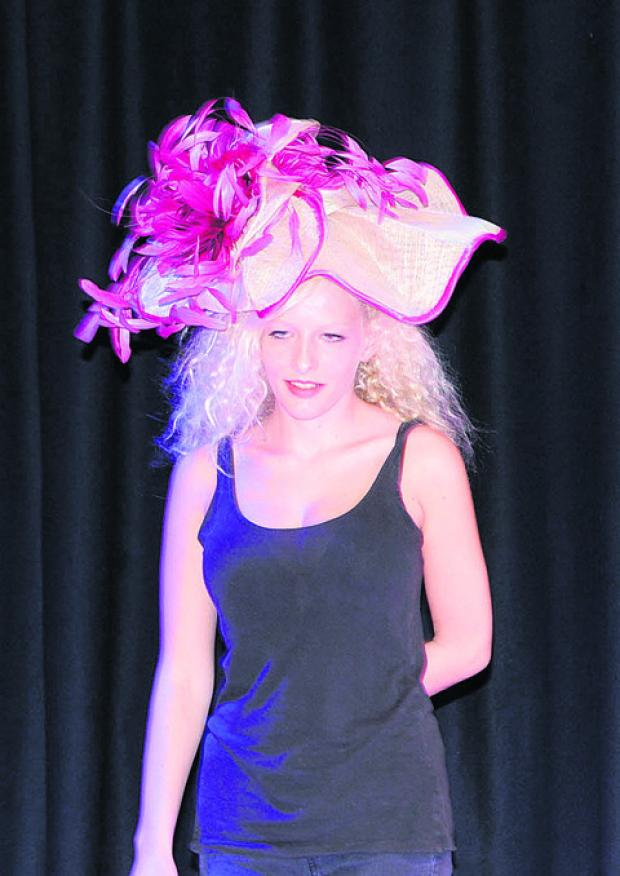 This Is Wiltshire: Alice models a Bridal Lounge hat