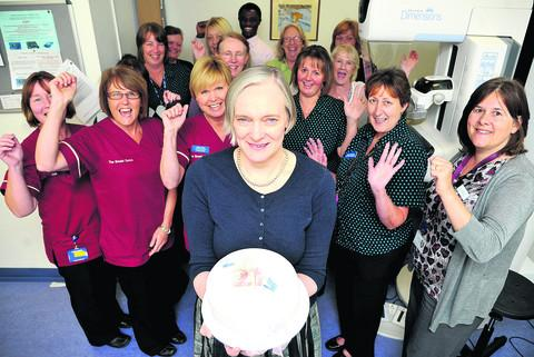 The Breast Centre at Great Western Hospital is celebrating its 21st anniversary