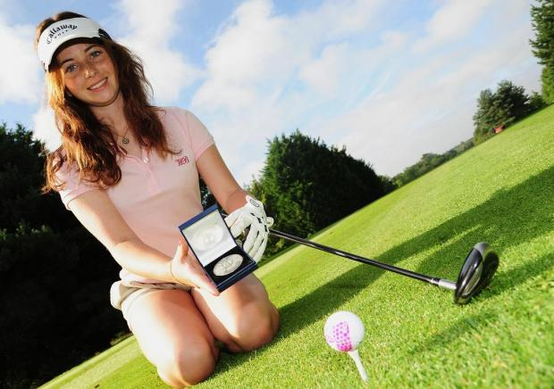 This Is Wiltshire: Courtney triumphs at St Andrews