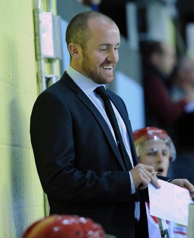 Swindon head coach Ryan Aldridge