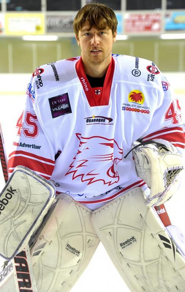 This Is Wiltshire: Ex-Guildford netminder Dean Skinns will go up against his former club tomorrow